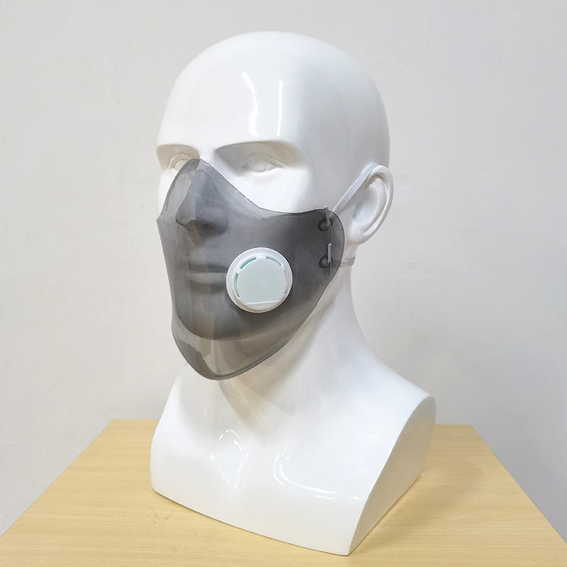 New multi-color protective soft tape breathing valve, anti-fog soft rubber partymask for adults, high breathability - KingCare | KingCare.net