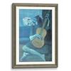 Rope Wooden Frame Antique Champagne(Self Matted In Canvas)