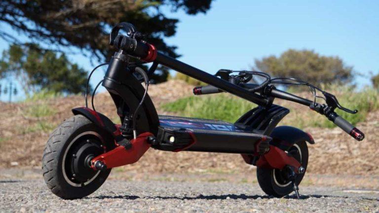 Монстр E-SCOOTER! Мощный двухмоторный электрический скутер Zero 10x 52 в 2000 Ач Вт