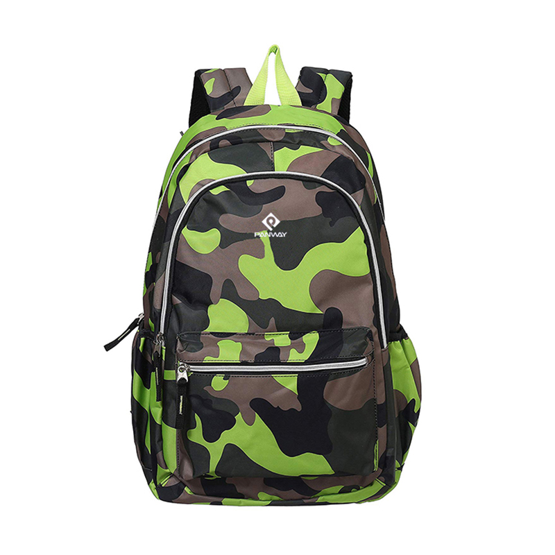 Backpack camouflage Newest Fashion Design waterproof Digital Printing camouflage laptop Children School backpacks Bags