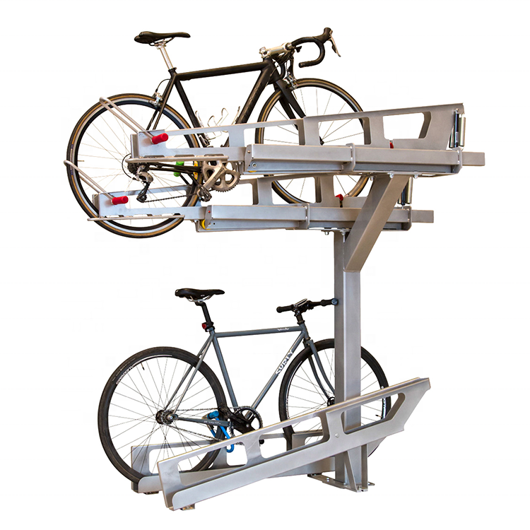 4 Vélo Parking Rack Stockage Support