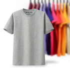 cotton men clothes solid color unisex t shirt custom t shirt printing