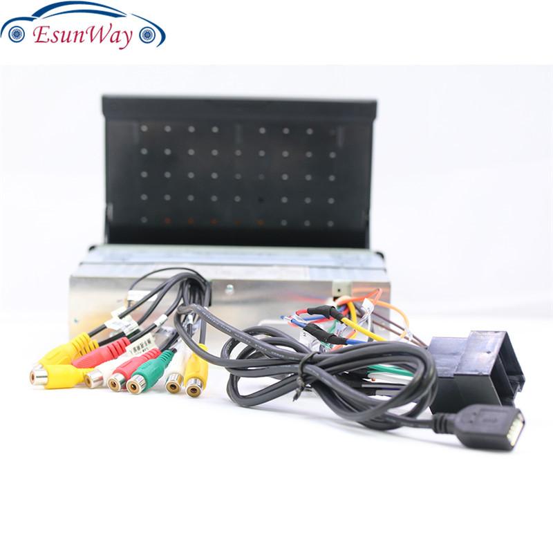 Автомагнитола 1Din, 7 дюймов, Android, стерео, GPS-навигация, радио, USB, SD, 2 Din, сенсорный автомобильный мультимедийный плеер, аудио плеер, Авторадио