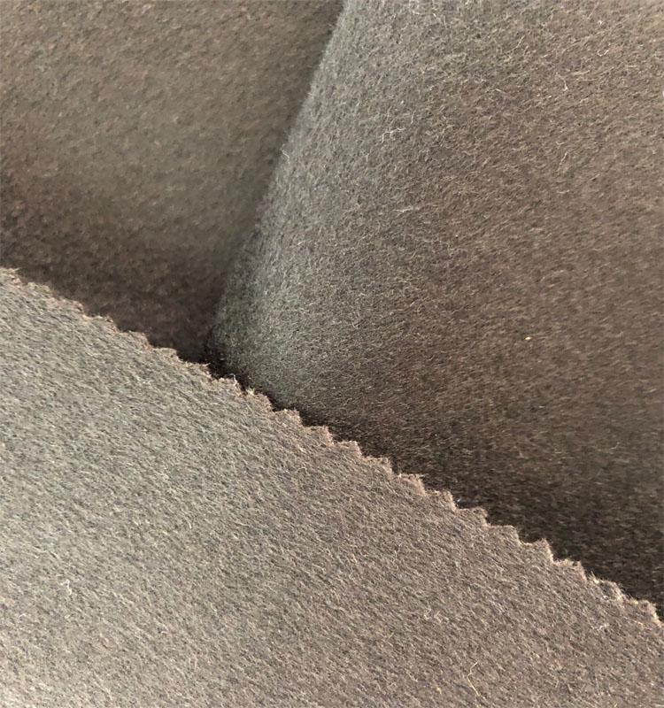 Производители производят 2019 высококачественную кашемировую шерстяную ткань для пальто
