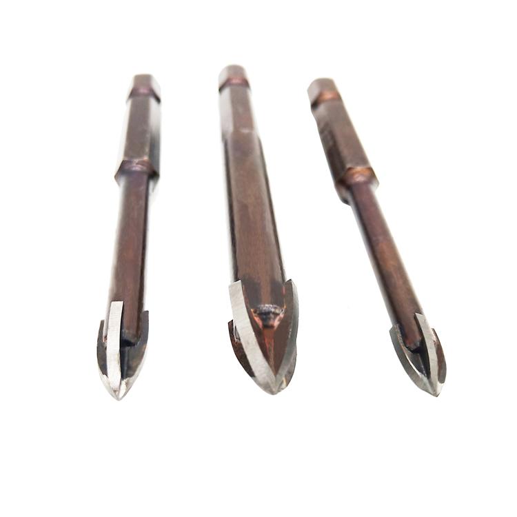 Твердосплавные наконечники для сверления стеклянной плитки, фарфора, 3 мм, 4 мм, 5 мм, 6 мм, 7 мм, 8 мм, 10 мм, 12 мм, 14 мм, 16 мм, режущие инструменты