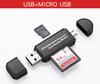 usb+micro 2.0 black,white  $1.2/PC