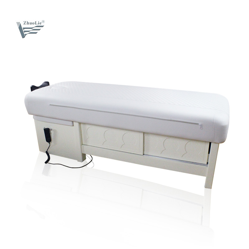 Hot sales Wooden beauty bed high quality beauty massage bed ayurveda beauty bed