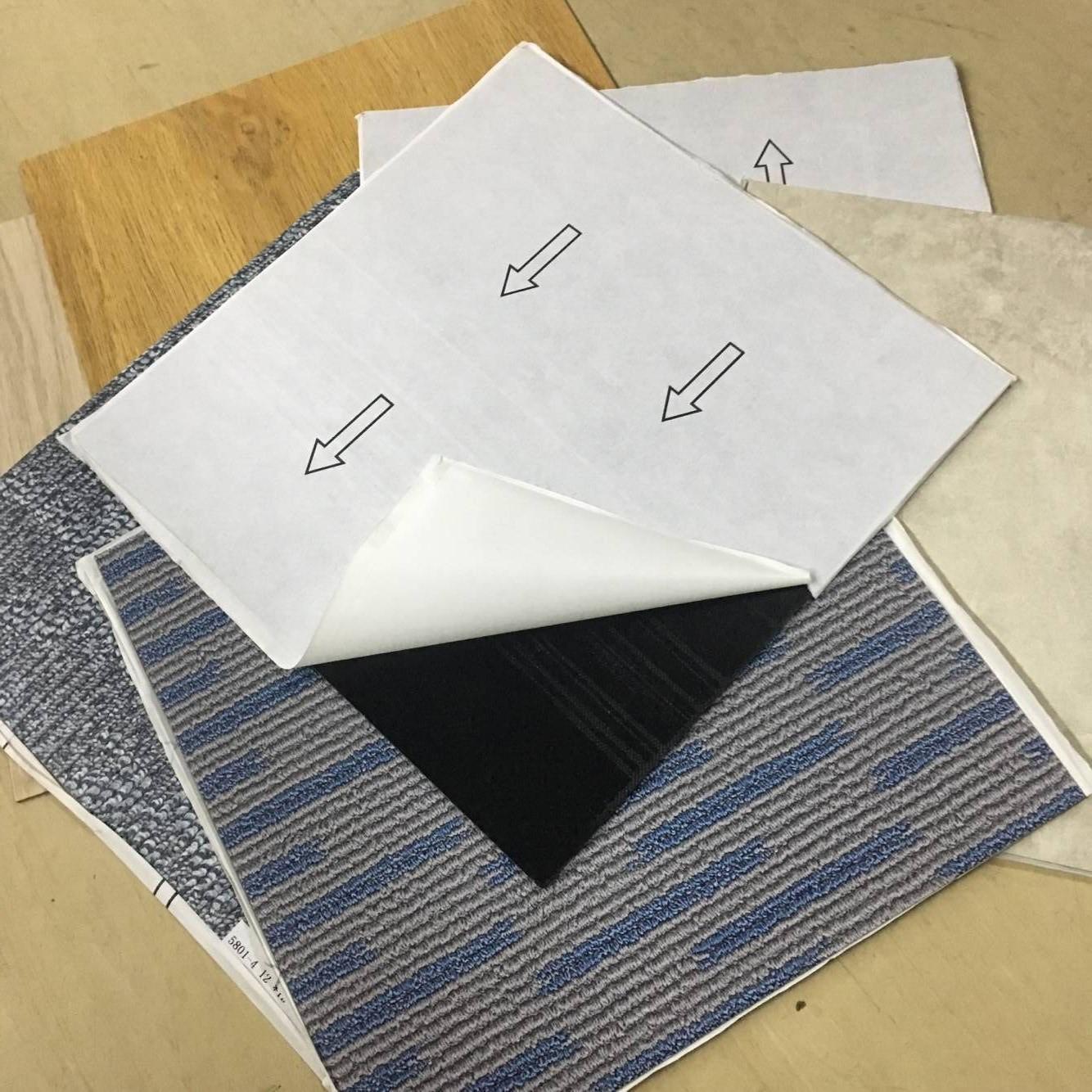 Сертификация CE, бесплатный образец, самоклеящееся виниловое напольное покрытие из ПВХ, напольная плитка из ПВХ, доска 1,5 мм