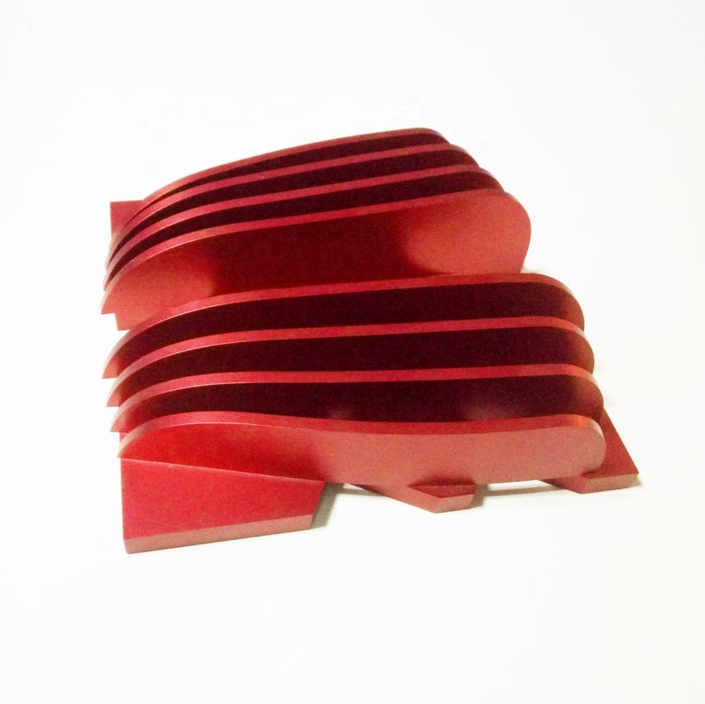 Индивидуальный большой круглый СВЕТОДИОДНЫЙ Алюминиевый экструзионный радиатор Al6063 T5