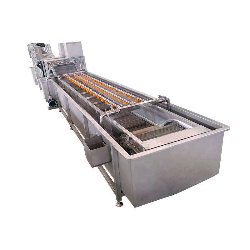 Fully 304 stainless steel automatic vegetable washing machine
