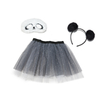 Skirt Baby New Design Panda TUTU Women Sets 3 Piece Skirt Lovely Panda Cosplay With Facemask And Ear Headband Set Baby Skirt
