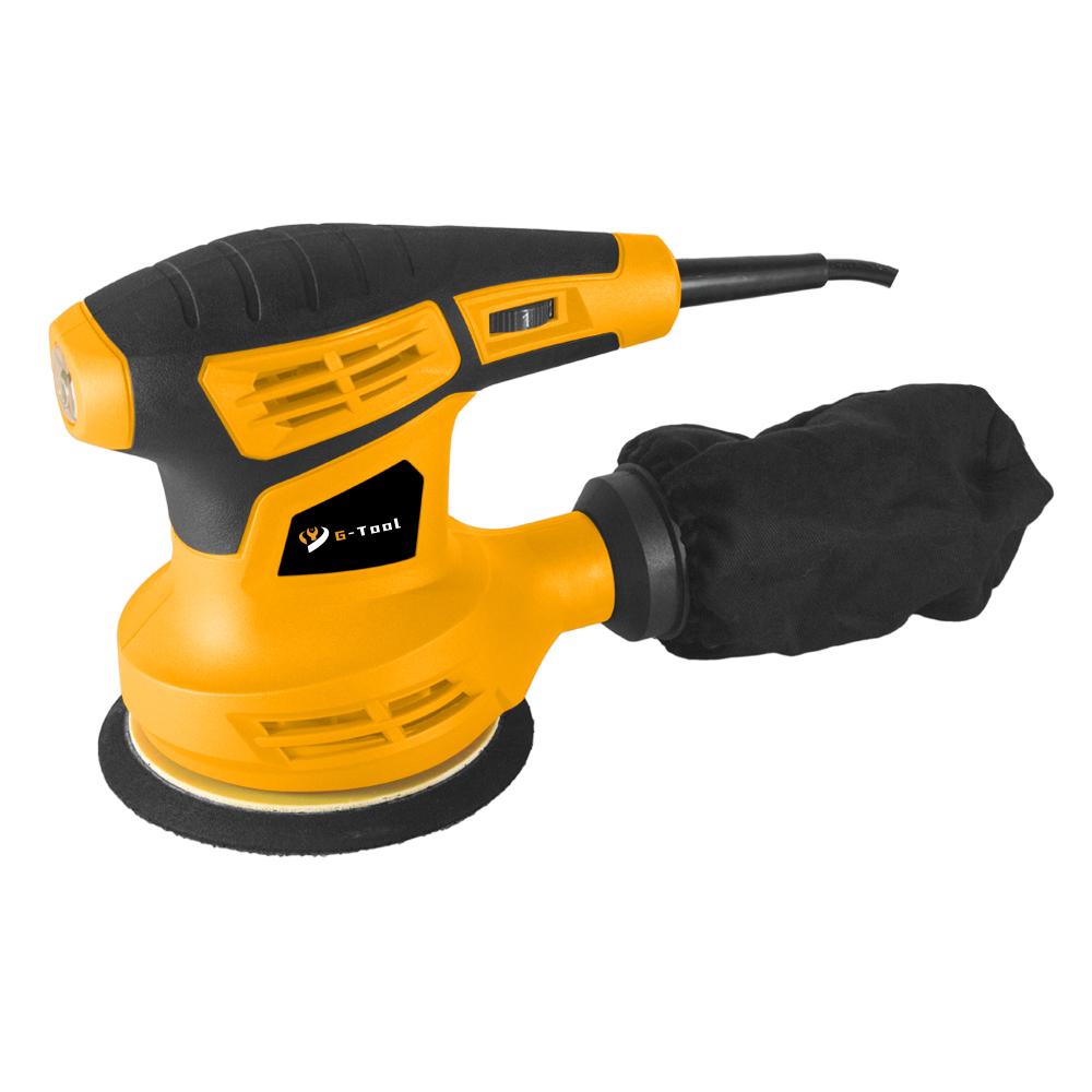 300w 125mm Professional Power Tools Electric Round Sander Orbital Sander for Wood Working DIY Tools Ningbo