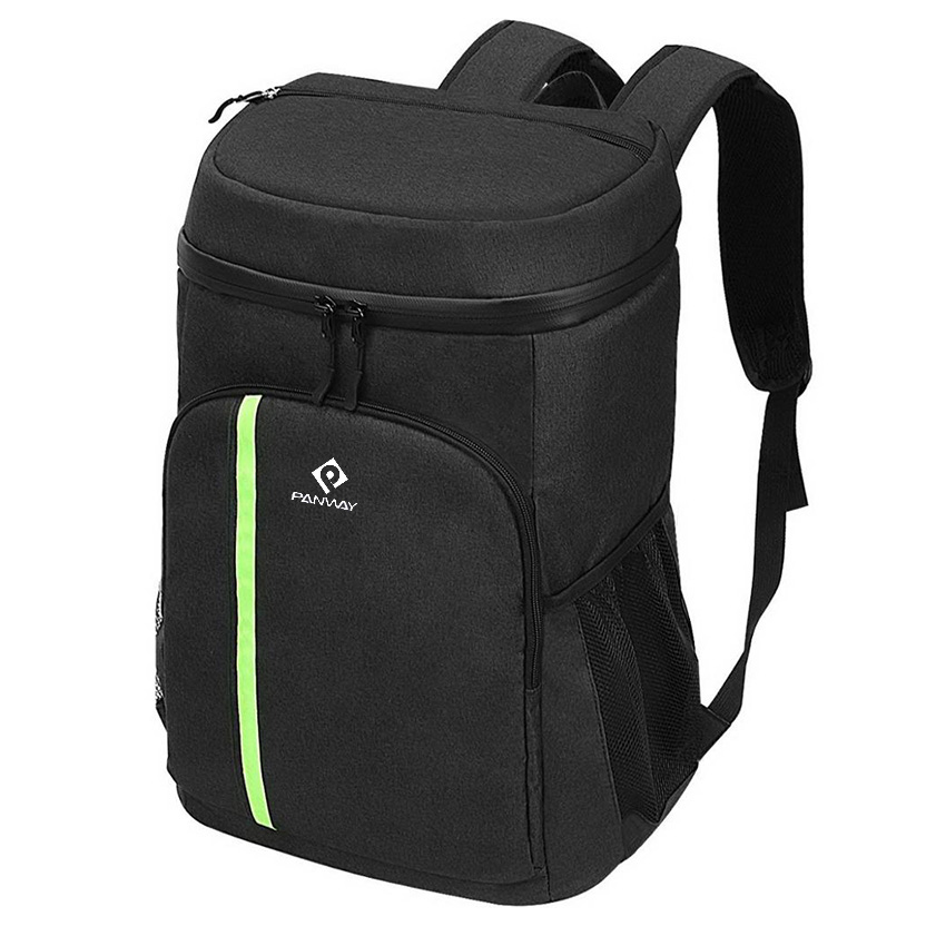 Customized Light weight Leak-Proof beach soft insulated Cooler Backpack with wine cooler compartment