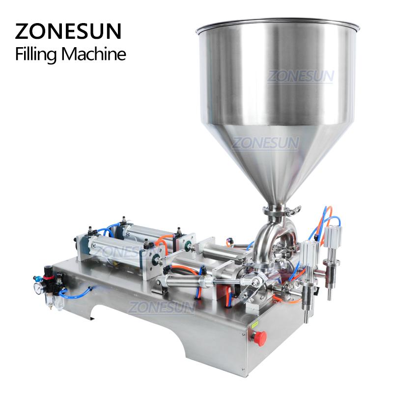 ZONESUN ZS-GY2 аппарат для наполнения салатами, пищевыми полуавтоматическими стеклянными косметическими бутылками, соком, маленьким поршнем, аппаратом для наполнения жидкой пастой