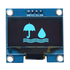 Display Oled Display 1.3 Inch 128x64 Oled Display Ssd1306 Driver SPI I2C Interface With PCB 4PIN/7PIN White/Blue Color