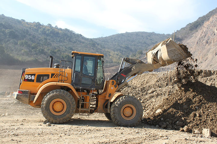 Famous Brand High Performance 5 Ton Wheel Loader New Product Hot Sale SYL956H5 in Sale