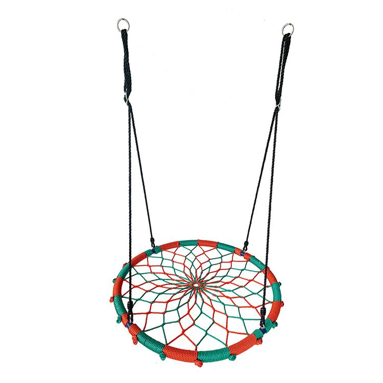 Waterproof Outdoor Portable Kids Tree Spider Web Swing