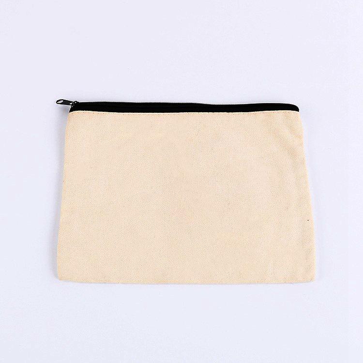 Многоцелевые Многоразовые моющиеся бязь пенал для карандашей для туалетных принадлежностей мешок с застежкой-молнией набор кисточек для макияжа Сумки