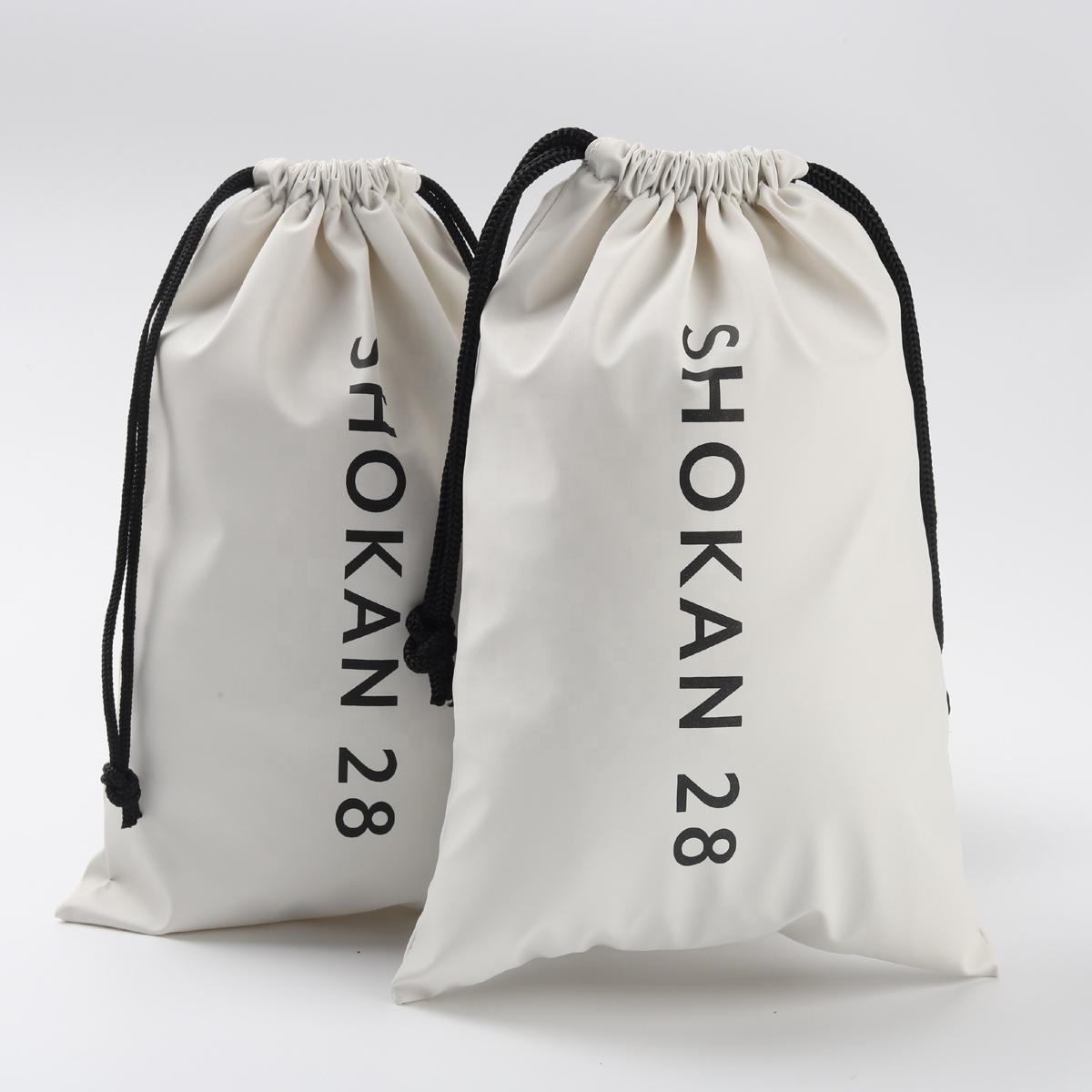 Подарочная Водонепроницаемая косметичка из искусственной кожи с логотипом на заказ, кожаная сумка на шнурке для ювелирных изделий