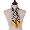 Yellow Silk Scarf