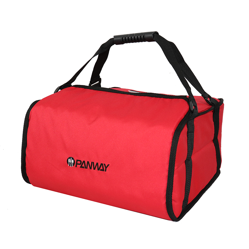 Delivery bag pizza Durable Polyester Professionals Insulated keep Food warm Pizza Delivery Carry Bags