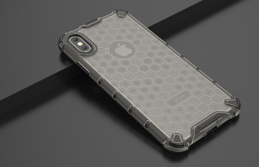 KEYSION подушка безопасности противоударный защитный чехол для iPhone 11 11 Pro max сотовая прозрачная задняя крышка для iPhone XS Max 6s 7 8 Plus XR(Китай)