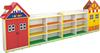Red house book shelf for pre school
