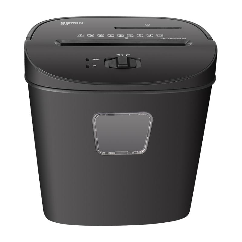 Вулканизационный пресс конвейерных высокое Secrity A4 бумага запись ширина мини офисных отходов бумаги Шредера с настольная лампа ручной использование машины