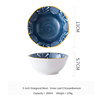 (1) Japanese Octagonal Bowl