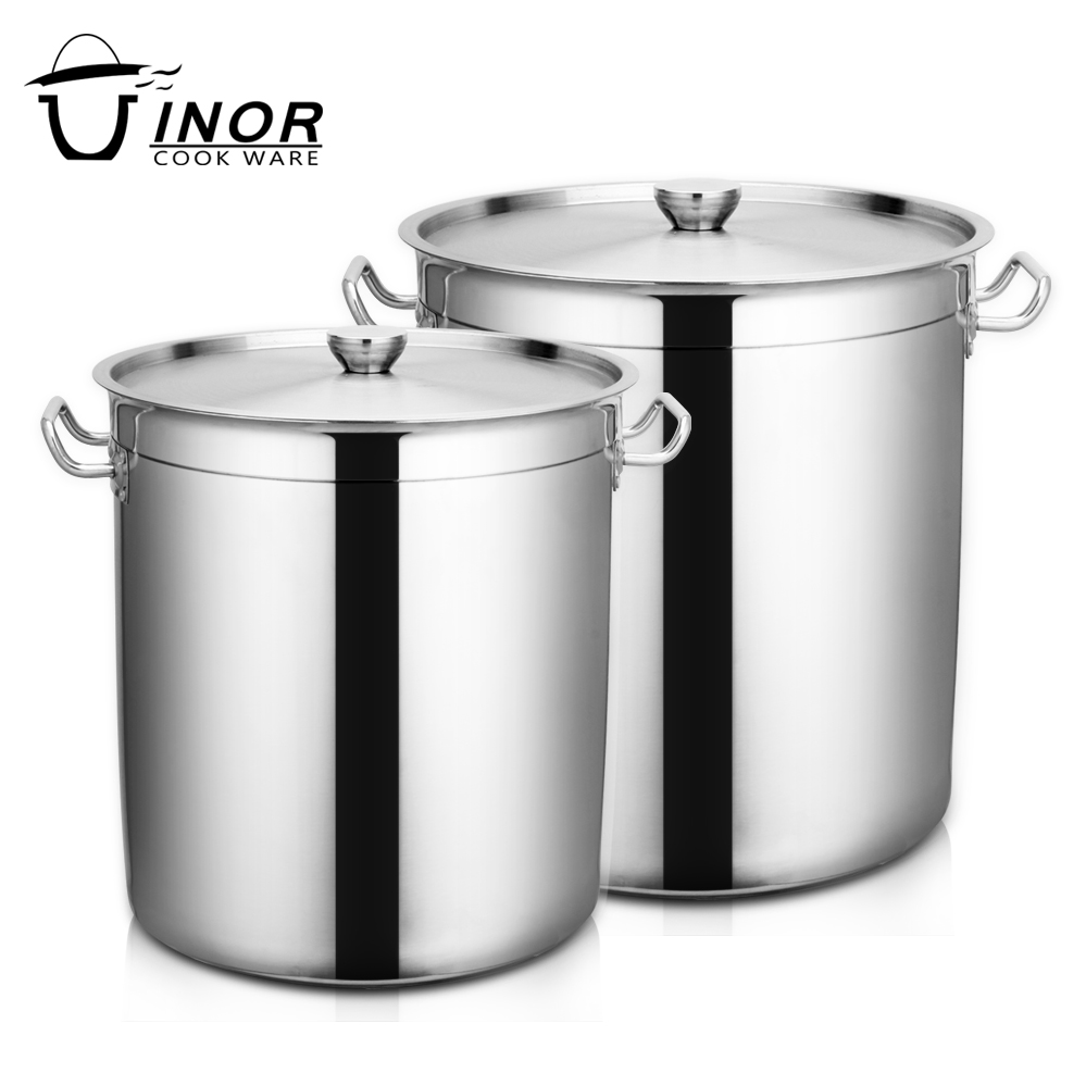 big volume restaurant soup stainless steel stock pot with lid