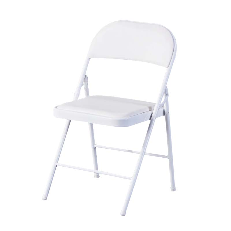 Wholesale foldable wedding chair party events metal frame white folding chairs