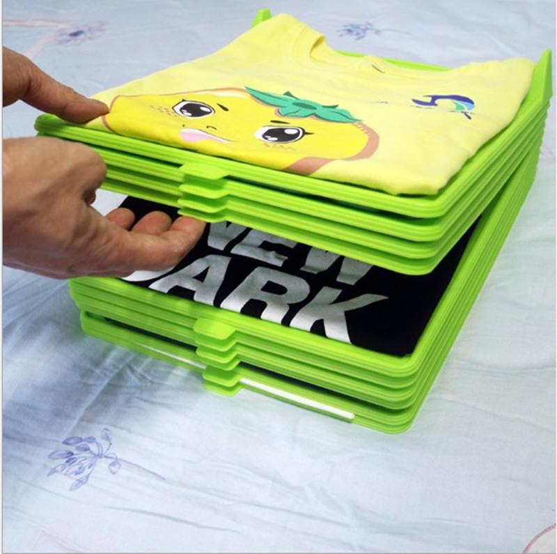T-shirt Folding Board t Shirt Folder Clothes flip fold Plastic flipfold Laundry Room Organizer