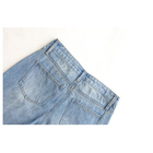 Pants Supply Women's Woven Casual Denim Cropped Pants Skimmer
