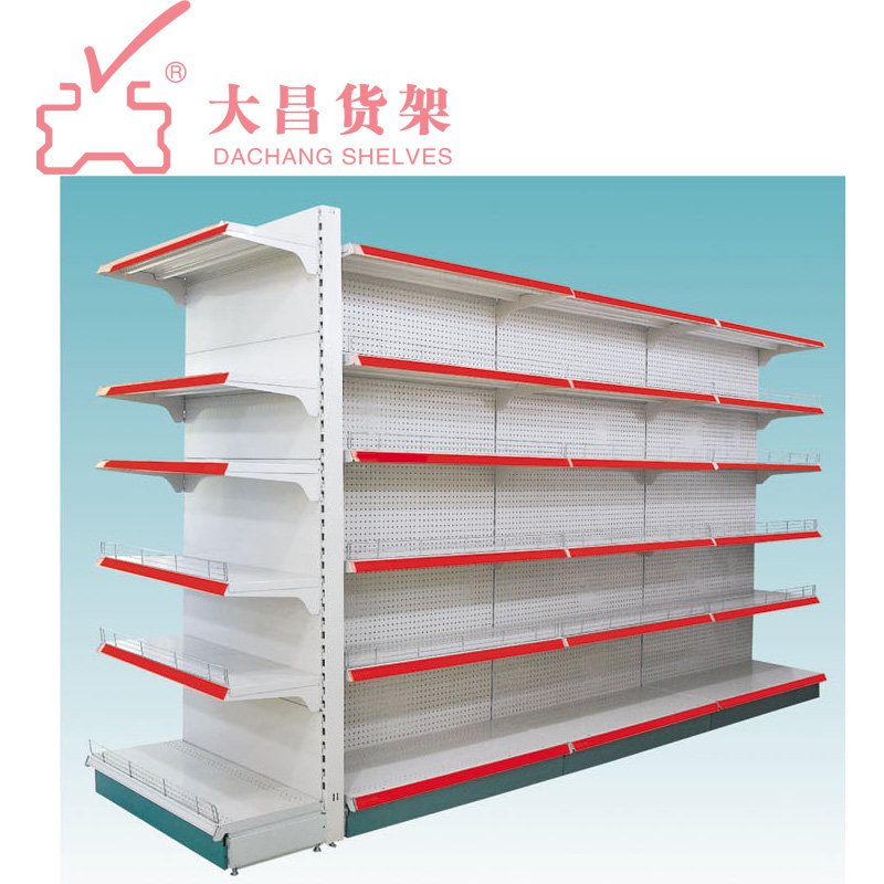 Dachang Factory Supermarket Shelf gondola sheves shelving store retail used shelves for sale supermarket displ grocery supermark