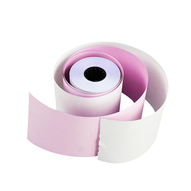 Manufacturers three-layey cash register paper carbonless cash register paper supply carbonless copy pos cash register paper