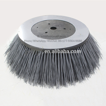 Gutter brooms Dulevo road sweeper side brushes with high quality