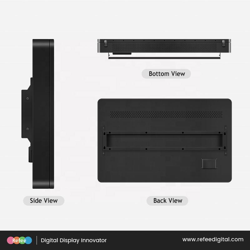 43 дюйма 55 дюймов экран наружной рекламы IP65 водонепроницаемый телевизор высокой яркости события видео-дисплей настенный крепимый СИД