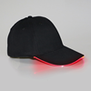 Black Cap with Red Lights