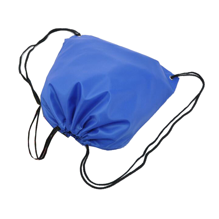 China Factory Custom Logo Blank Drawstring Bag
