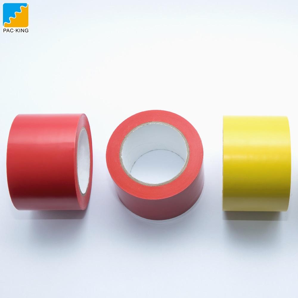Водонепроницаемая износостойкая напольная маркировочная ПВХ предупреждающая лента