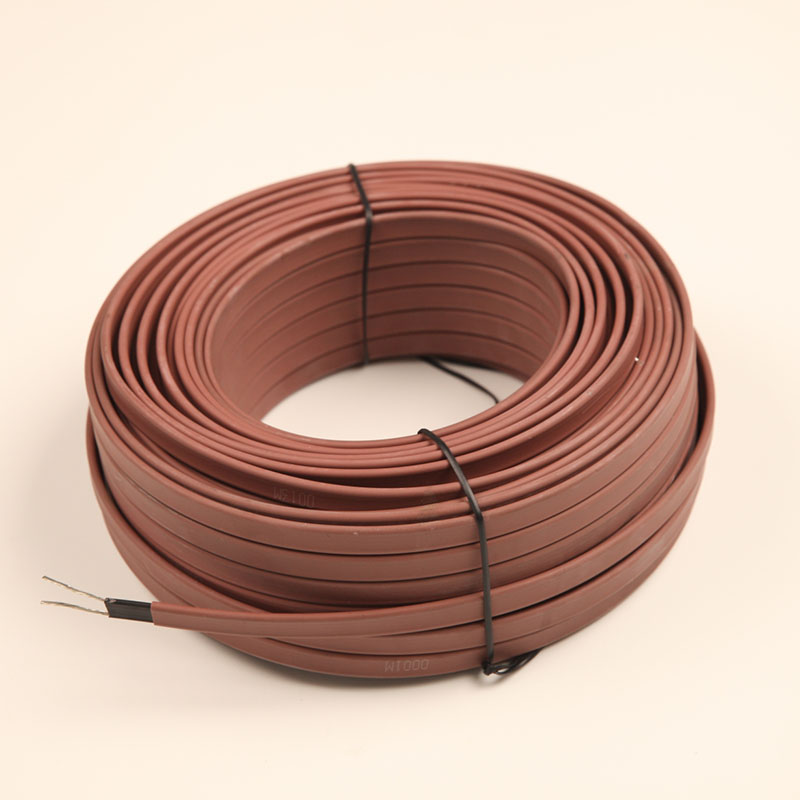 Self-regulating electric 220v roof defrost heating cable