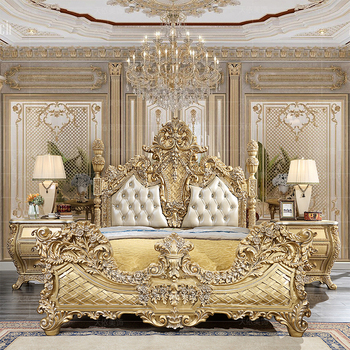 Royal Luxury Classic Turkey Royal Bedroom Set Furniture