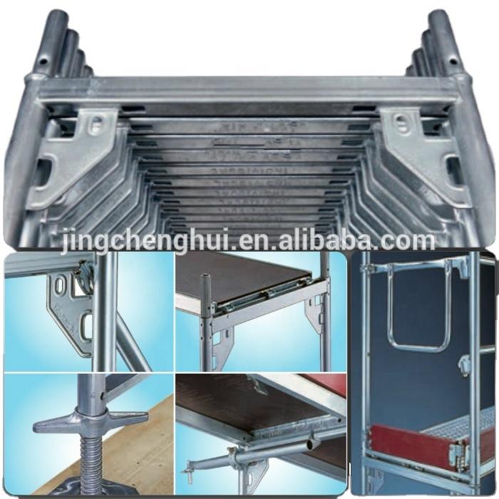 Aluminium layher speedy facade scaffold
