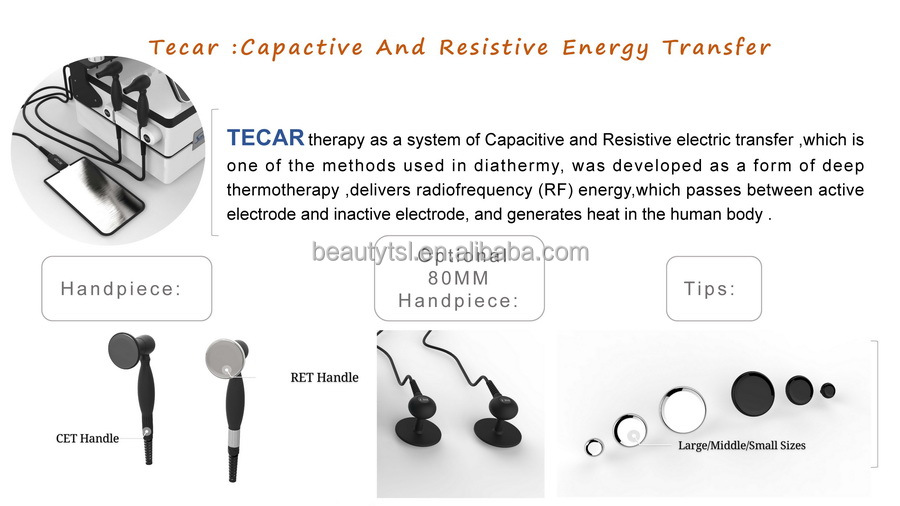 3 in 1 smart tecar RF pain relief EMS Tecar Wave portable extracorporeal physio therapy shock wave