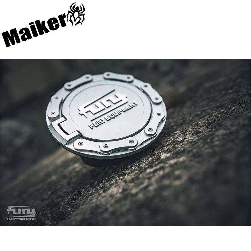 Tank cover for Jeep Wrangler JK/JL Offroad gas cover Fuel tank gas cap 4X4 accessory maiker manufacturer