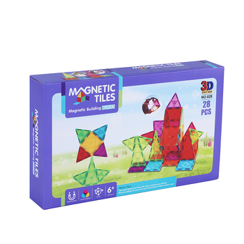STEM toys 3D magnetic building block set 28 pcs with high quality educational toy