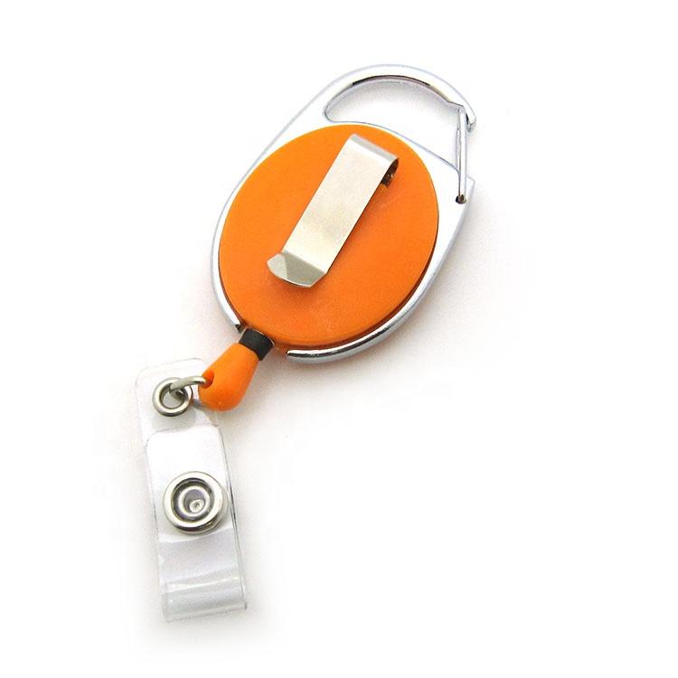 Выдвижной Бейдж, держатель катушки, оптовая продажа, индивидуальная сублимационная пластиковая бирка с именем, милый зажим для бейджа йо-йо с держателем для удостоверения личности