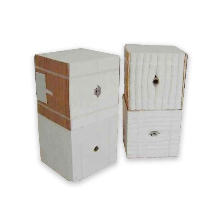 High density ceramic fiber module for 1260C high temperature kiln can be customized