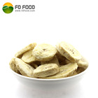 Fd snack bulk packing freeze dry fruit chips sliced dice health food freeze-dried banana powder for sale freeze dried banana
