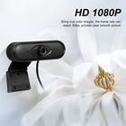 Web Webcam 1080P Full HD Web Camera With Built-in Microphone USB Plug Web Cam For PC Computer Mac Laptop Desktop YouTube Skype Win10